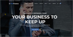 Business Advisor Joomla Template