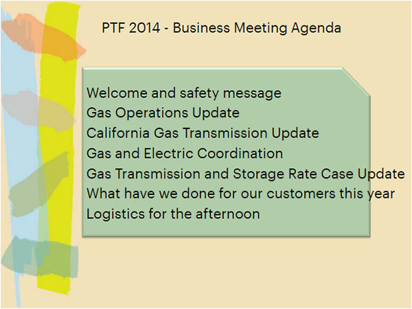 Business Agenda Template Free Download