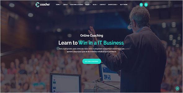 Business Coaching WordPress Theme
