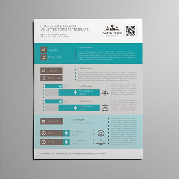Business Conference Agenda Template