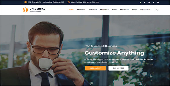 Business Consulting Services Joomla Theme
