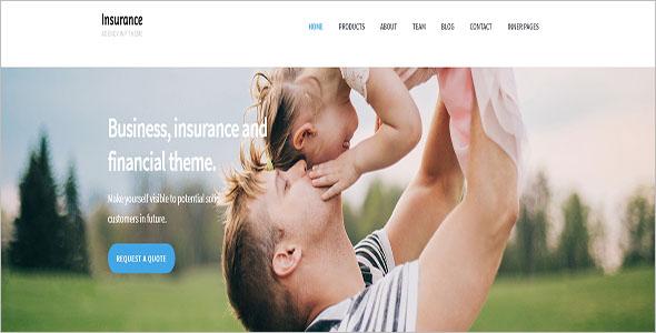 Business & Insurance WordPress Theme
