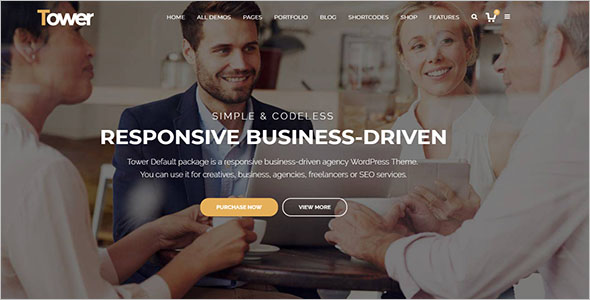 Business Multipurpose WP Theme