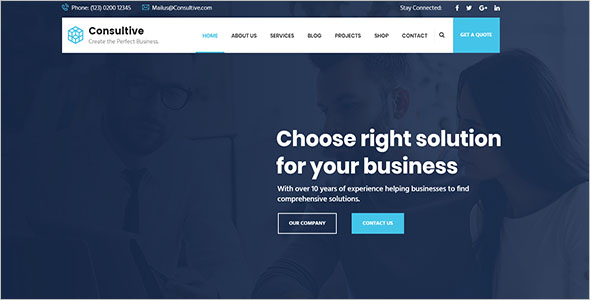 Business Services Joomla Template