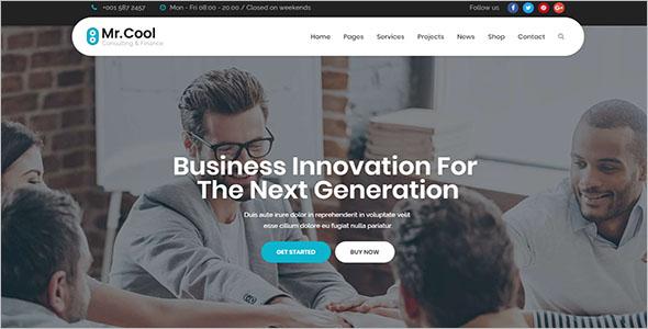 Business Services Joomla Theme