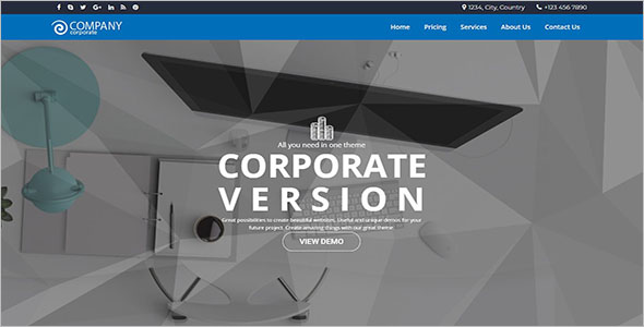 Business Solutions WordPress Theme