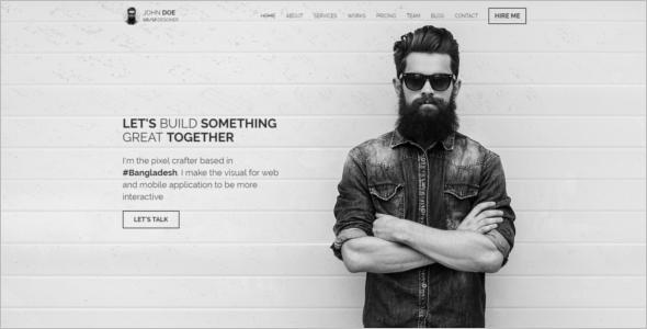 Business Template For Freelancer Website