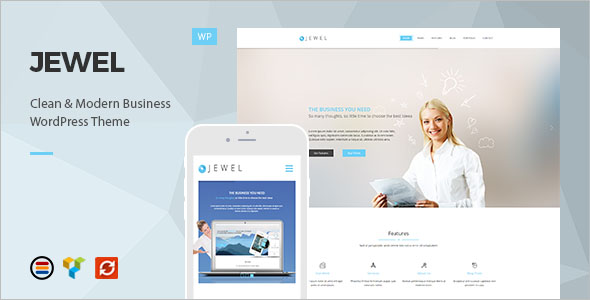 Business Theme Format WordPress