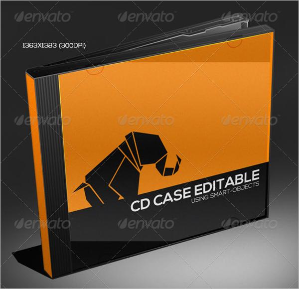 CD Case Template PDF