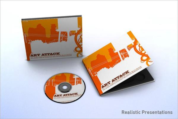 CD Case Template