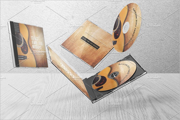 CD Jewel Case Template