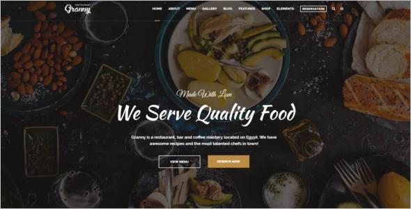 CafePress Website Theme