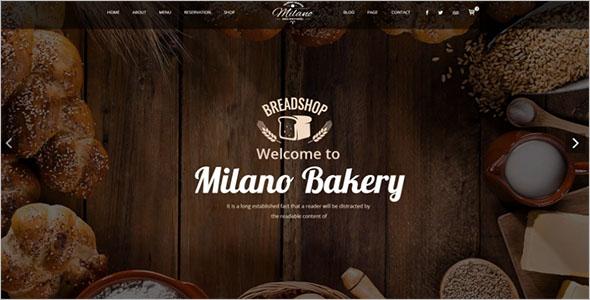 Cake & Bakery Joomla Template