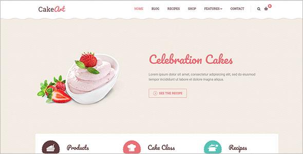 Cake Joomla Template