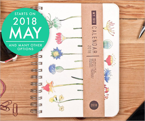 Calendar Agenda Template