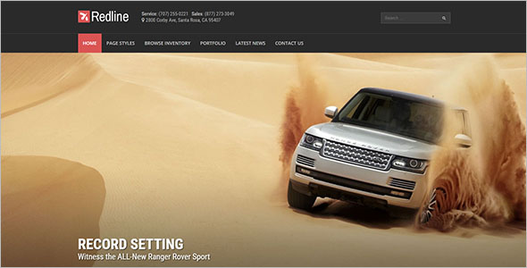 Car Dealership WordPress Theme