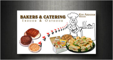Catering Services Business Card Designs