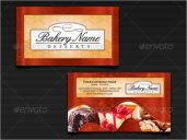 Catering Services Visiting Card Design
