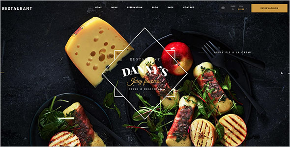 Catering Website Design Template