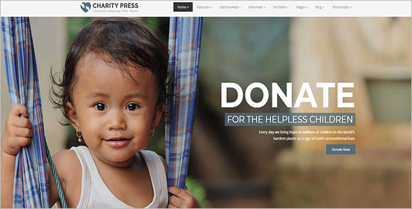 Charitable Trust Bootstrap Template