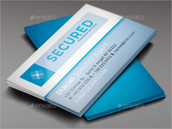 Charity Business Card PSD Template