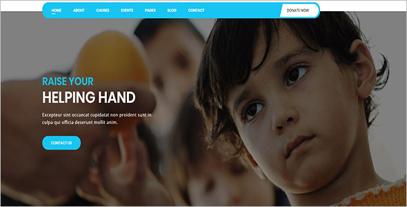 Charity Non-Profit Bootstrap Template