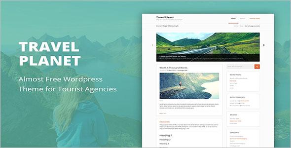Cheap Travel WordPress Theme