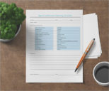 Checklist Template For House Cleaning