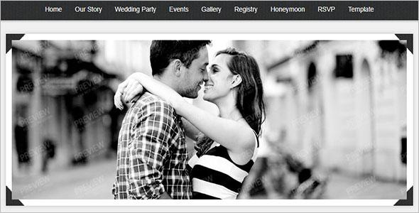 Vintage Wedding Joomla Theme