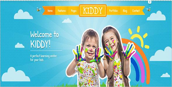 Children HTML Website Template