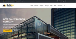 Clean Business Services Joomla Template