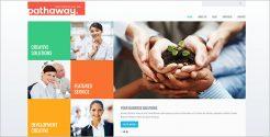 Clean Business WordPress Theme