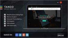 Clean Landing Page Drupal Theme