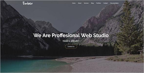 Clean Marketing Agency WordPress Theme
