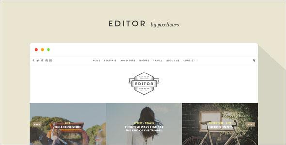 Clean Video WordPress Theme