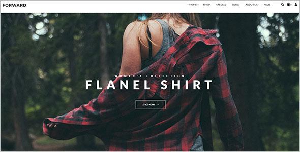 Clothes Fashion Magento Theme