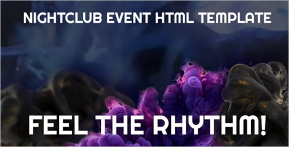 Club Event Management Website Theme