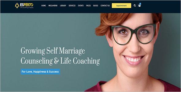 Coaching WordPress Theme