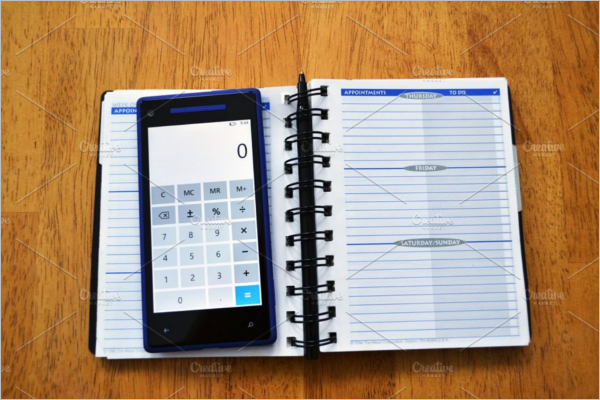 College Agenda Planner Template Excel