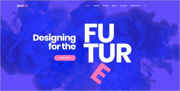 Company Intranet Website Template