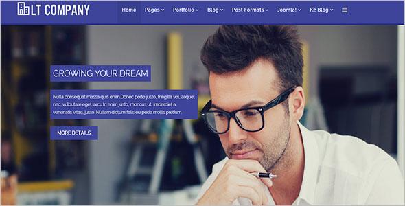 Company Joomla Website Template