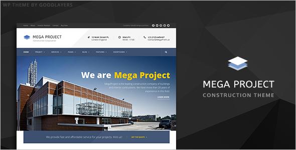 Company Profile Website Templates