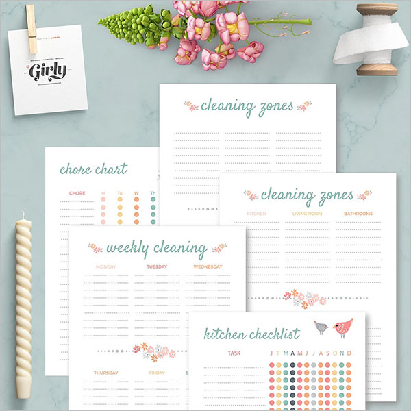 Complete Cleaning Checklist Template