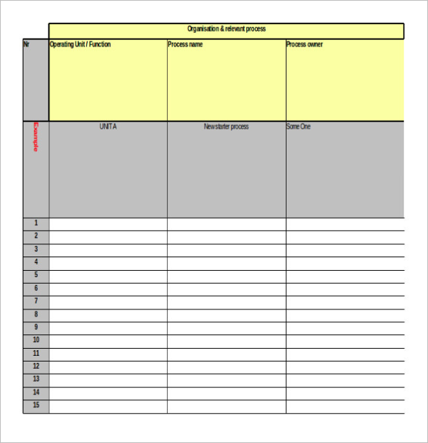 Computer Inventory Form Template
