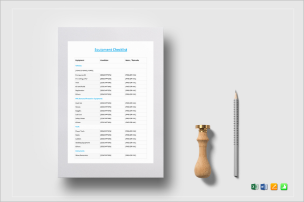 Computer Inventory Template PDF Template