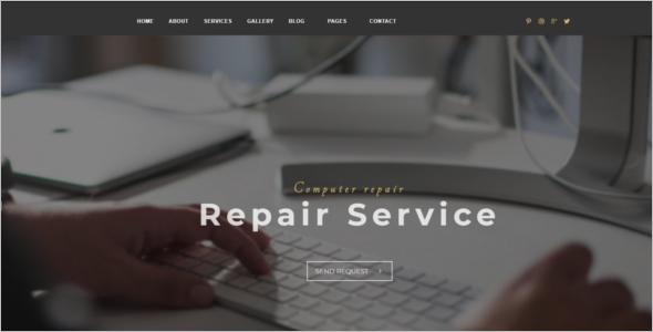 Computer Repair Shop HTML Template