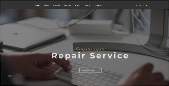 Computer Repair Shop HTML Template