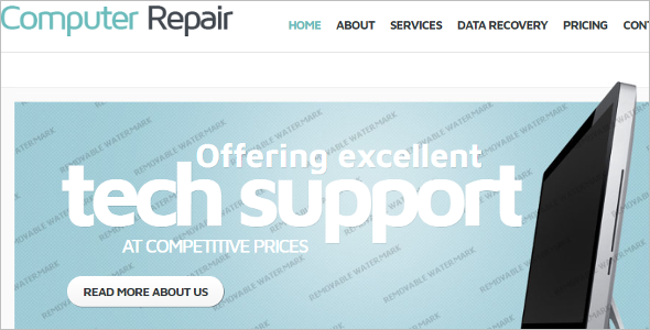Computer Sales Website Template