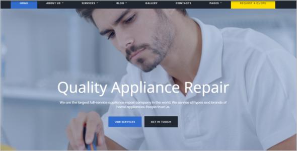 Computer Service Website Template