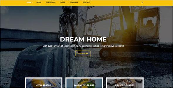 Construction Drupal 8 Theme